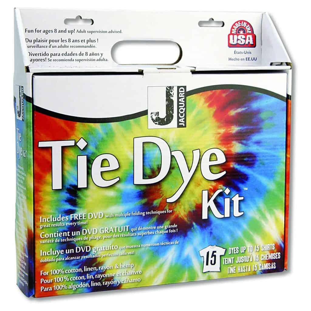 Walmart tie-dye kits - Jacquard tye dye kit