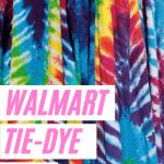 Walmart tie-dye kits review