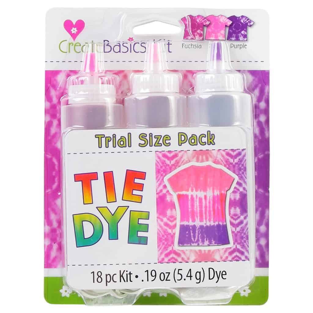 Walmart tie-dye kits - Create Basics 3 colour